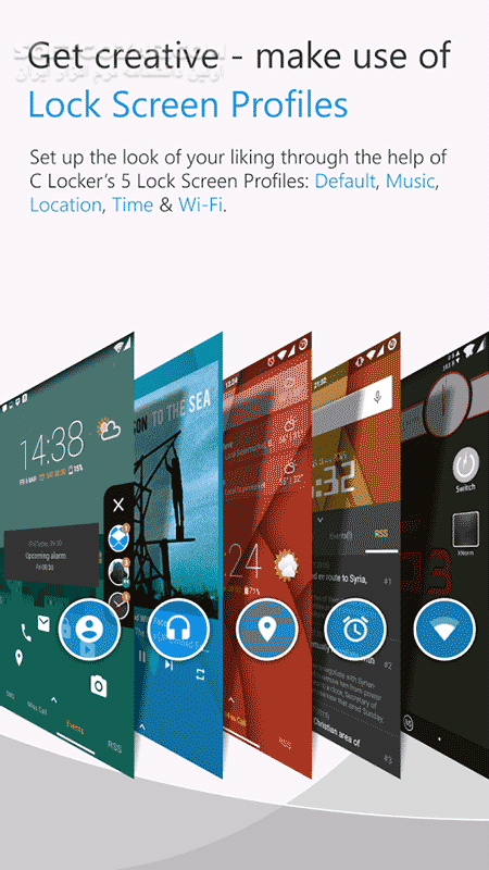 C Locker Pro 8 3 1 for Android 4 1 تصاویر نرم افزار  - سافت گذر