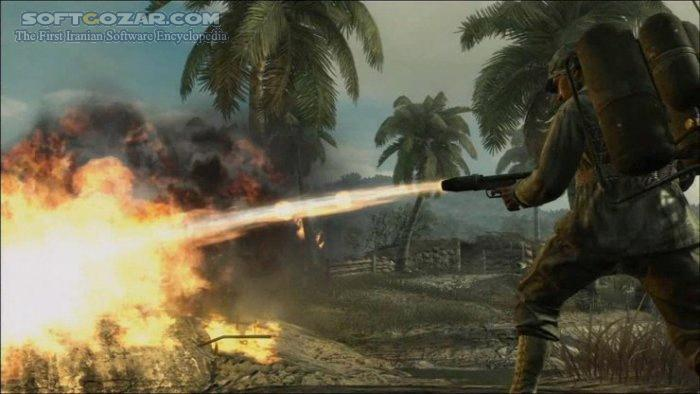 Call of Duty World at War تصاویر نرم افزار  - سافت گذر