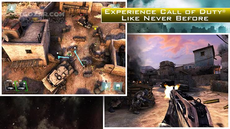 Call of Duty Strike Team 1 0 40 for Android 4 0 تصاویر نرم افزار  - سافت گذر