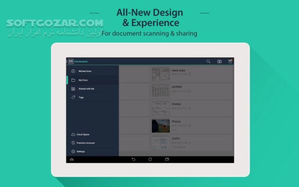 CamScanner 5 11 3 20190614 Full for Android 2 3 تصاویر نرم افزار  - سافت گذر