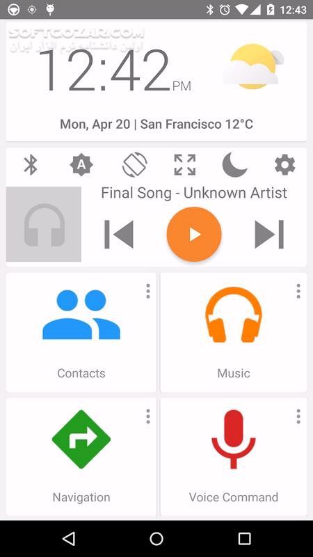 Car Dashdroid 2 3 12 for Android 4 1 تصاویر نرم افزار  - سافت گذر