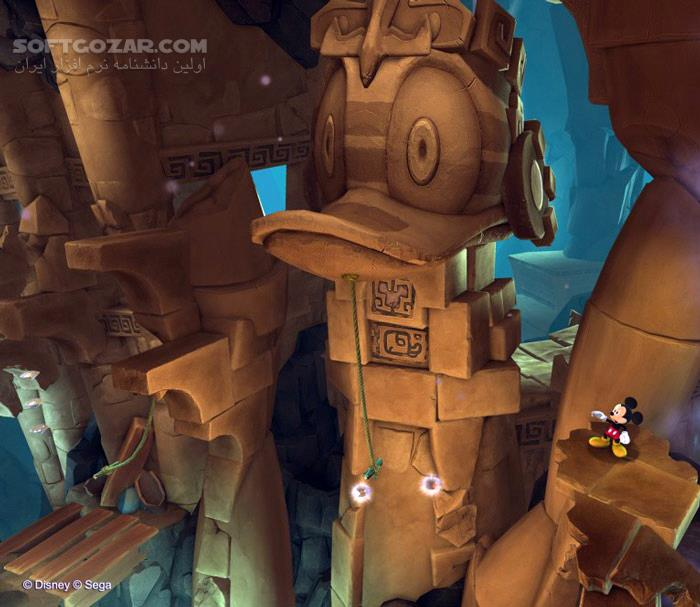 Castle of Illusion Update 1 تصاویر نرم افزار  - سافت گذر