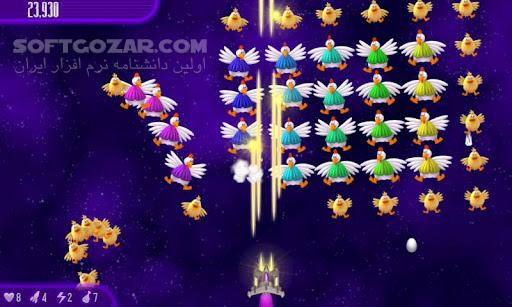 Chicken Invaders All Release for Android 2 3 تصاویر نرم افزار  - سافت گذر