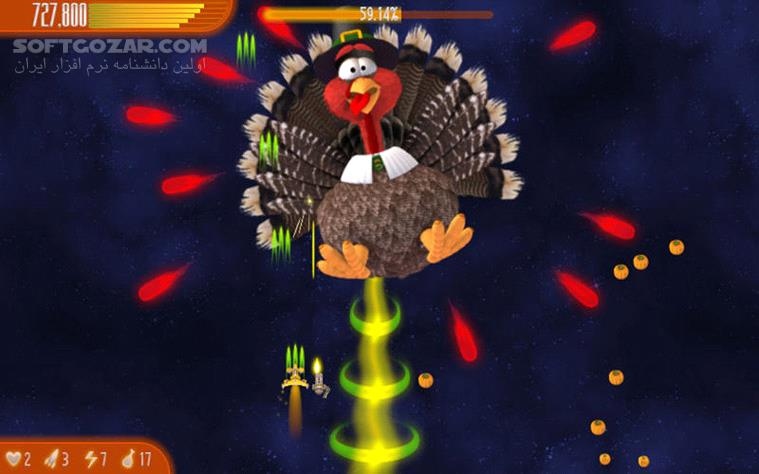 Chicken Invaders Ultimate Omelette Thanksgiving Edition تصاویر نرم افزار  - سافت گذر