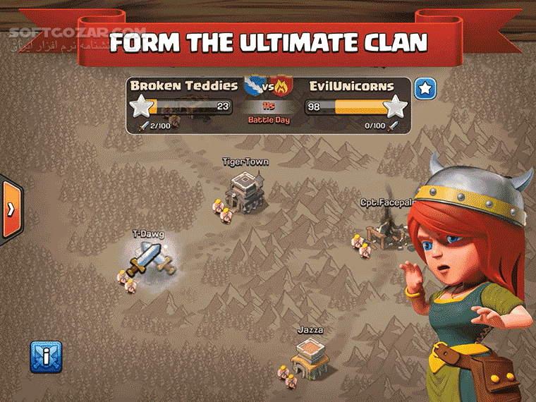 Clash of Clans 11 866 18 for Android 4 0 تصاویر نرم افزار  - سافت گذر