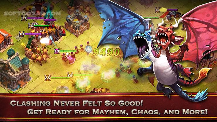 Clash of Lords 2 v1 0 391 for Android 2 3 تصاویر نرم افزار  - سافت گذر