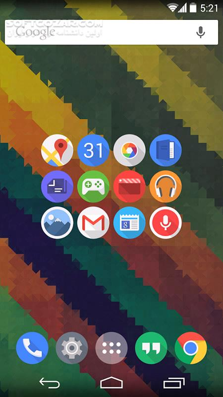 Click UI 6 3 for Android 4 0 تصاویر نرم افزار  - سافت گذر