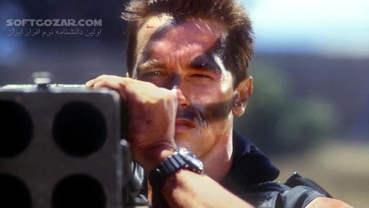 Commando تصاویر نرم افزار  - سافت گذر