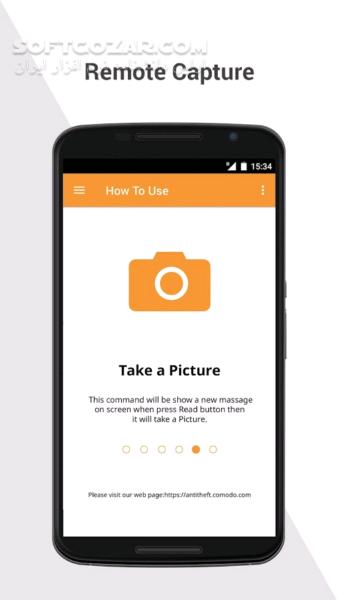 Comodo Anti Theft 3 1 2400 for Android 4 0 تصاویر نرم افزار  - سافت گذر