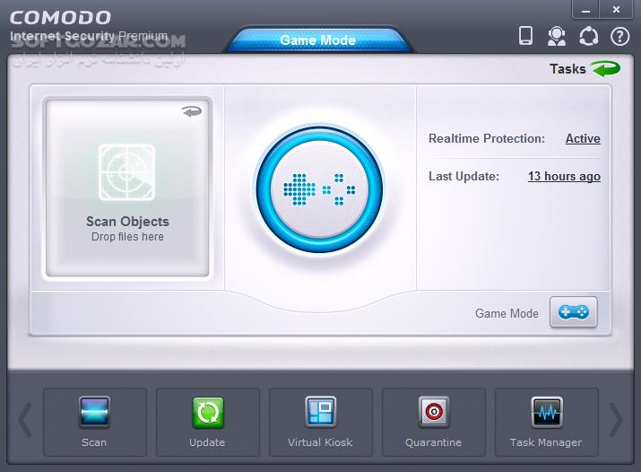 Comodo Internet Security Premium 11 0 0 6744 Final User Guide تصاویر نرم افزار  - سافت گذر