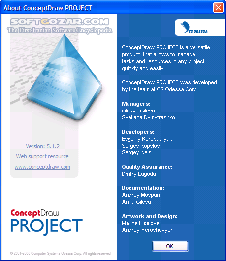 ConceptDraw OFFICE 5 3 8 8 0 7 31 8 0 7 4 macOS تصاویر نرم افزار  - سافت گذر