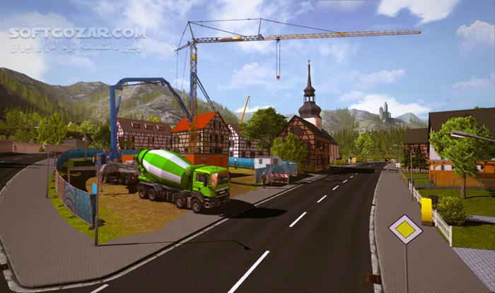 Construction Simulator Gold Edition تصاویر نرم افزار  - سافت گذر
