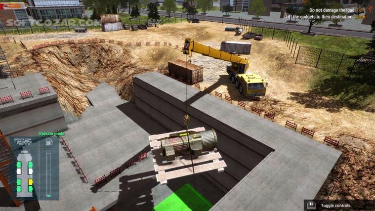 Construction Machines Simulator 2016 تصاویر نرم افزار  - سافت گذر