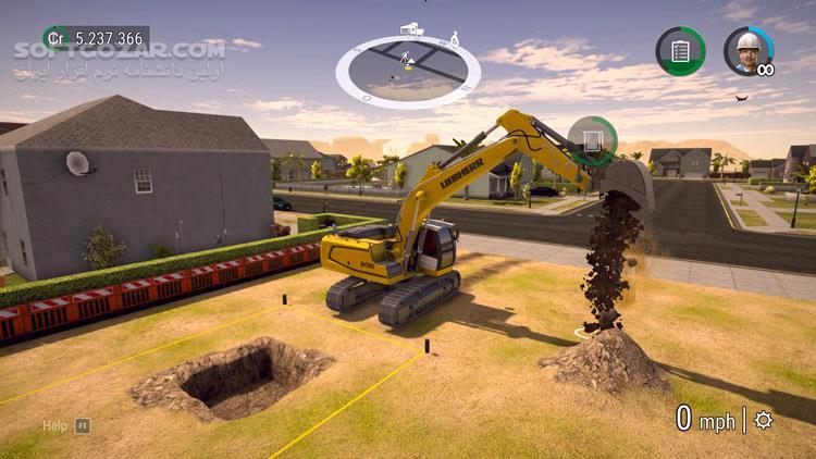 Construction Simulator 2 تصاویر نرم افزار  - سافت گذر