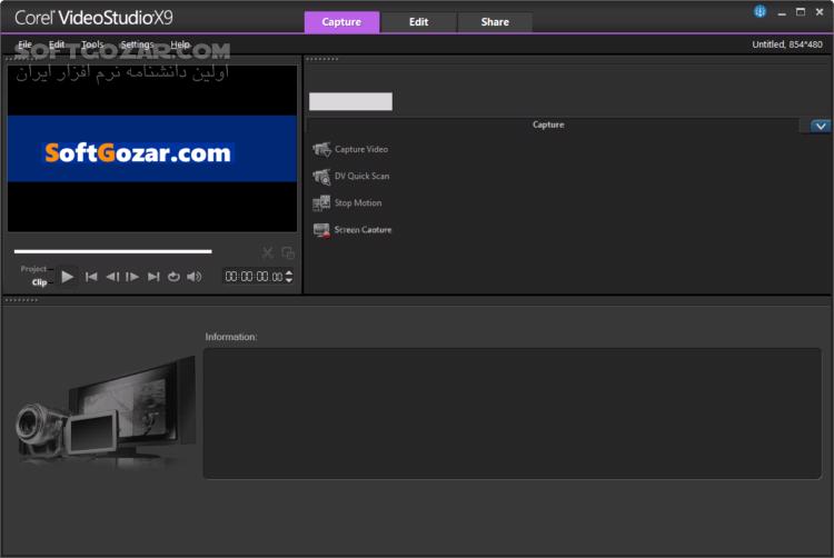 Corel VideoStudio Ultimate X10 v20 5 0 60 x86 x64 تصاویر نرم افزار  - سافت گذر