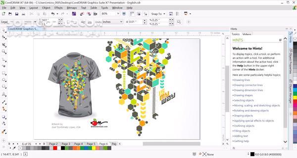 CorelDRAW Technical Suite 2019 21 3 0 755 Update 1 Corporate تصاویر نرم افزار  - سافت گذر