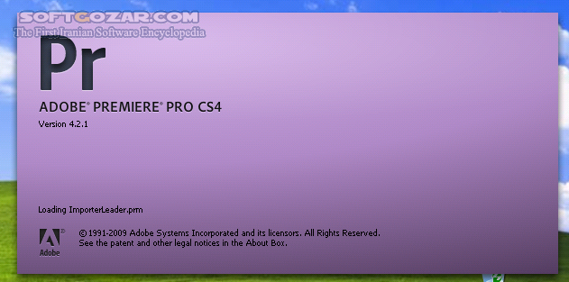 Adobe Premiere Pro CS4 v4 2 1 تصاویر نرم افزار  - سافت گذر