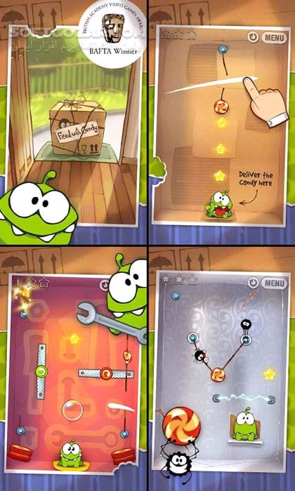 Cut The Rope 3 18 0 HD 2 5 2 Holiday Gift 1 7 for Android 4 1 تصاویر نرم افزار  - سافت گذر