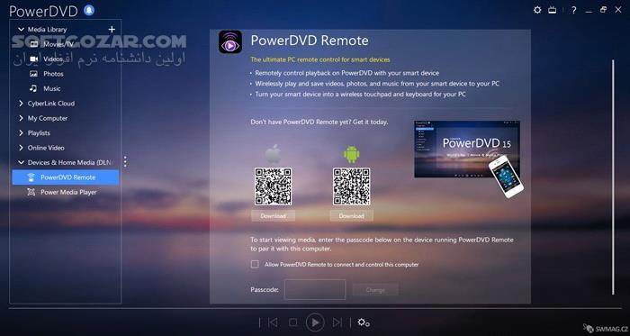 CyberLink PowerDVD Ultra 17 0 2316 62 Retail تصاویر نرم افزار  - سافت گذر