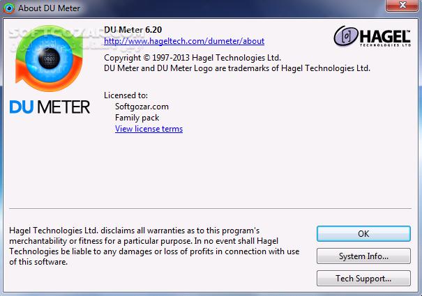 DU Meter 7 22 Build 4764