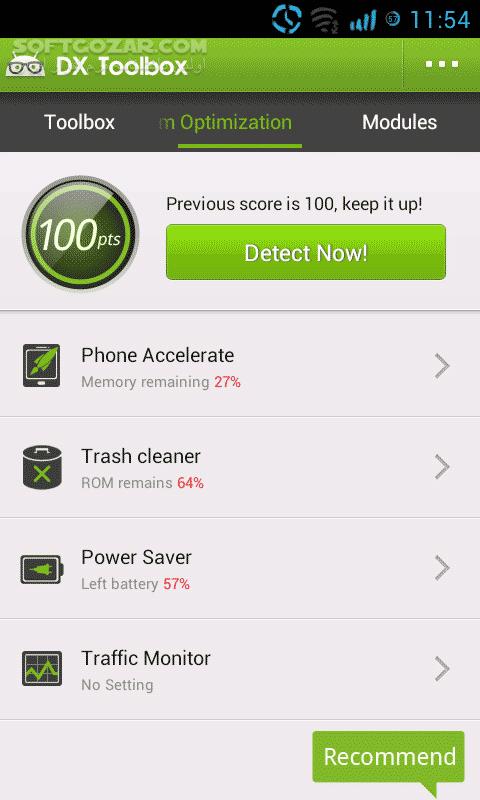 DX Toolbox 3 5 0 DX Battery Saver 3 4 0 for Android 2 2 تصاویر نرم افزار  - سافت گذر