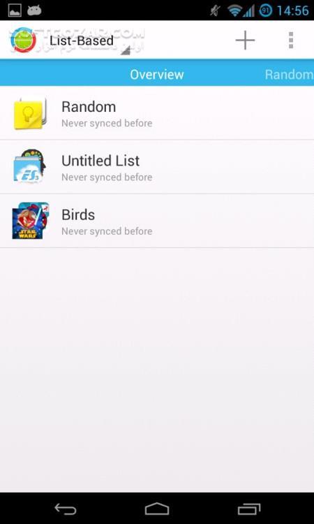 DataSync 4 1 7 for Android 2 3 تصاویر نرم افزار  - سافت گذر