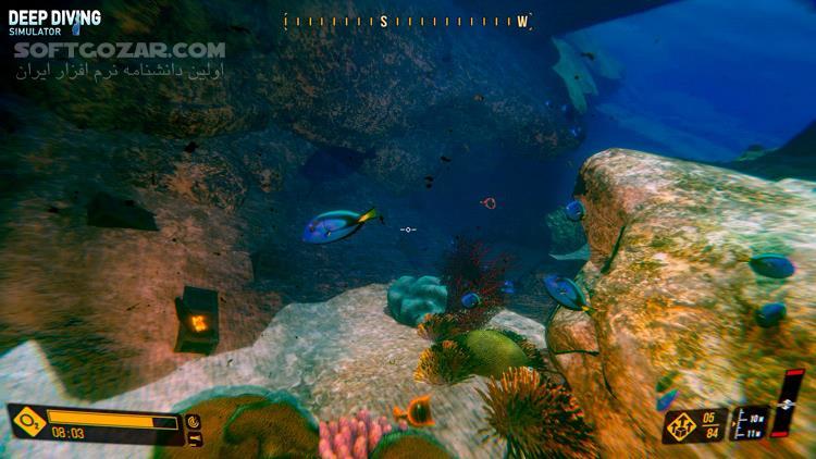 Deep Diving Simulator v1 08 تصاویر نرم افزار  - سافت گذر