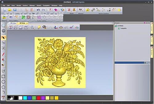 Delcam ArtCAM Pro 2012 SP2 build 359 x86 x64 تصاویر نرم افزار  - سافت گذر