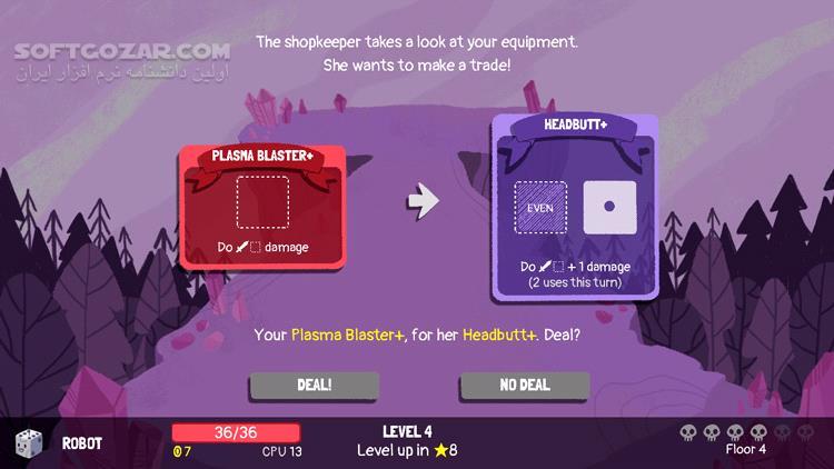 Dicey Dungeons Update v1 2 تصاویر نرم افزار  - سافت گذر