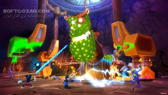 Disney Epic Mickey 2 The Power of Two تصاویر نرم افزار  - سافت گذر
