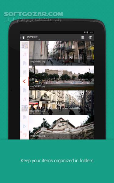 Dumpster Image Video Restore 2 20 310 40 for Android 2 3 تصاویر نرم افزار  - سافت گذر
