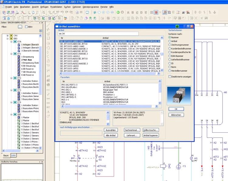 EPLAN Electric P8 2 7 تصاویر نرم افزار  - سافت گذر
