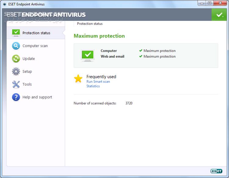 ESET Endpoint Antivirus 5 0 2272 7 x86 x64 تصاویر نرم افزار  - سافت گذر