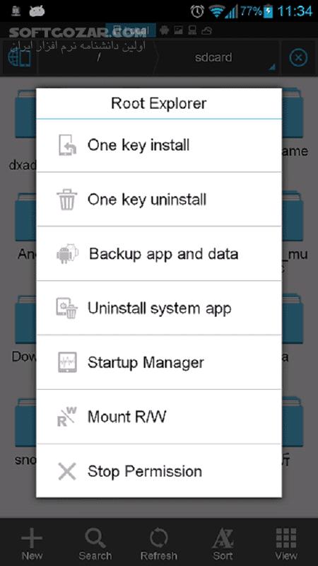 ES File Explorer Pro 1 1 4 1 4 2 1 8 Mod for Android 2 2 تصاویر نرم افزار  - سافت گذر