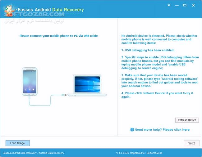 Eassos Android Data Recovery 1 2 0 808 تصاویر نرم افزار  - سافت گذر