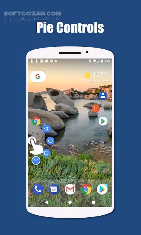 Edge Gestures 1 5 2 For Android 4 4 تصاویر نرم افزار  - سافت گذر