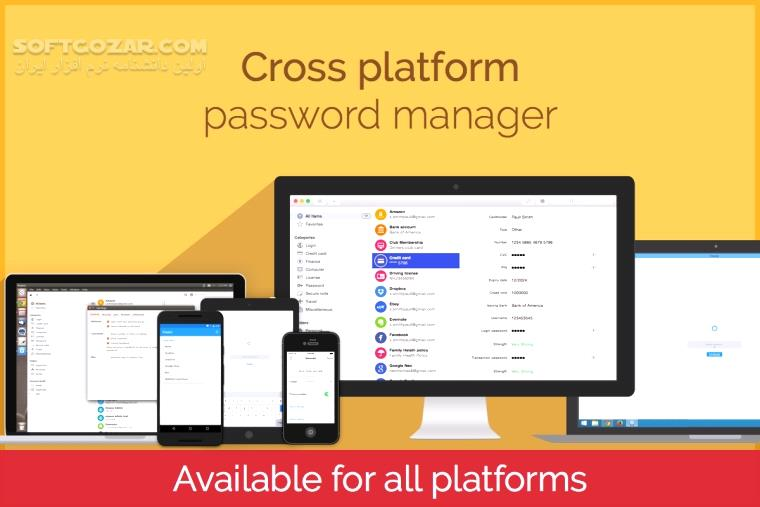 Enpass Password Manager 6 1 0 226 for Android 4 0 تصاویر نرم افزار  - سافت گذر