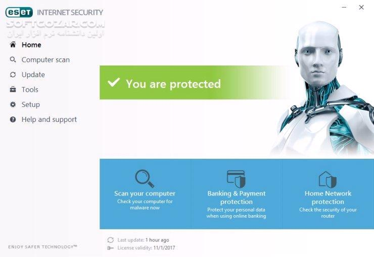 ESET NOD32 Antivirus Internet Security Smart Security Premium 12 2 23 0 تصاویر نرم افزار  - سافت گذر
