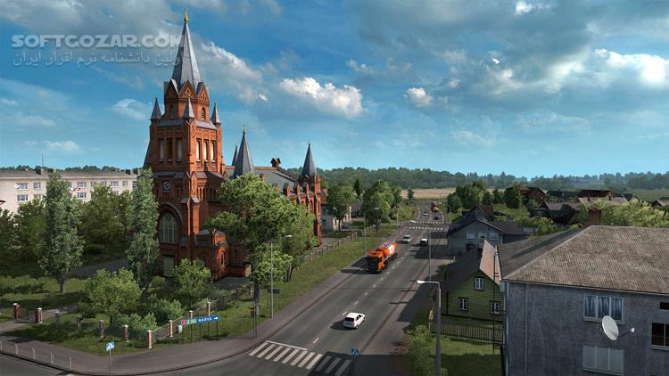 Euro Truck Simulator 2 Beyond the Baltic Sea تصاویر نرم افزار  - سافت گذر