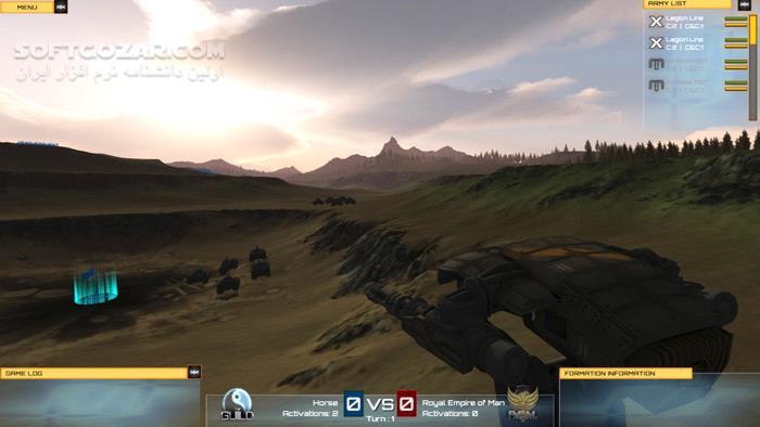 Exodus Wars Fractured Empire تصاویر نرم افزار  - سافت گذر