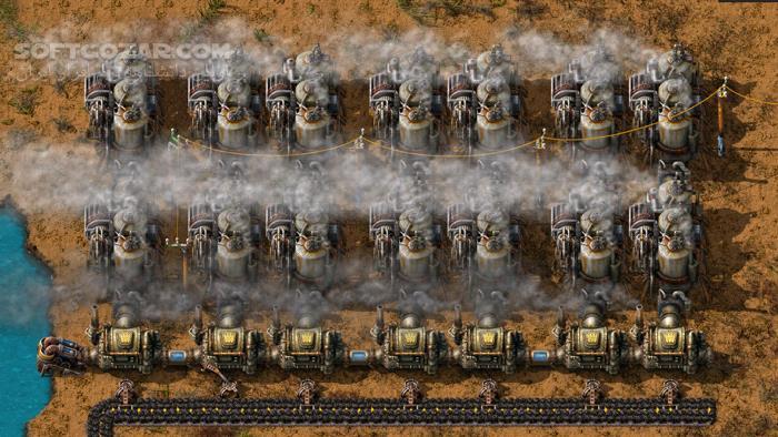 Factorio تصاویر نرم افزار  - سافت گذر