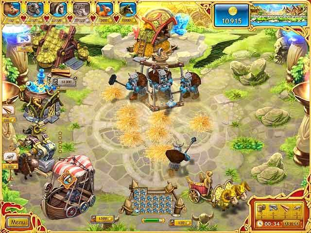 Farm frenzy Viking Heroes تصاویر نرم افزار  - سافت گذر