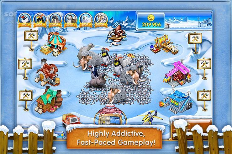 Farm Frenzy 3 (Ice Domain) 1 0 for Android تصاویر نرم افزار  - سافت گذر