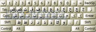Persian Standard Keyboard All Windows x86 x64 تصاویر نرم افزار  - سافت گذر
