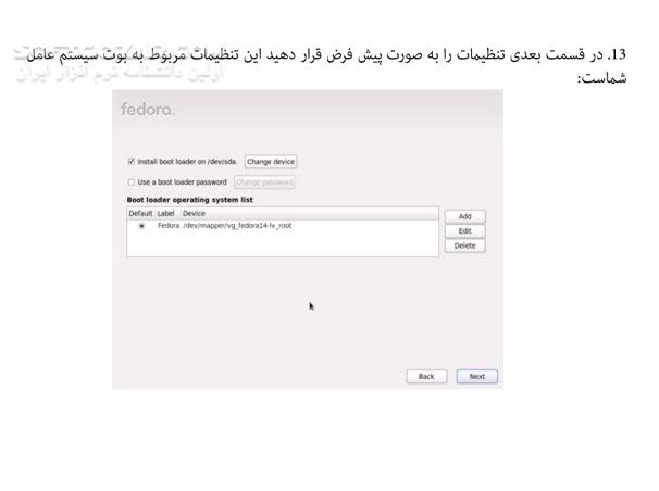 آموزش تصویری سیستم عامل فدورا تصاویر نرم افزار  - سافت گذر