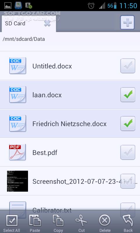 File Expert Pro 8 3 0 HD 2 3 0 for Android 4 1 تصاویر نرم افزار  - سافت گذر