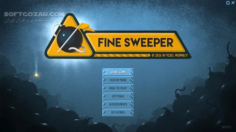 Fine Sweeper تصاویر نرم افزار  - سافت گذر
