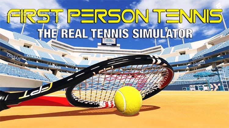 First Person Tennis The Real Tennis Simulator تصاویر نرم افزار  - سافت گذر