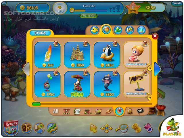 Fishdom 3 Collectors Edition تصاویر نرم افزار  - سافت گذر
