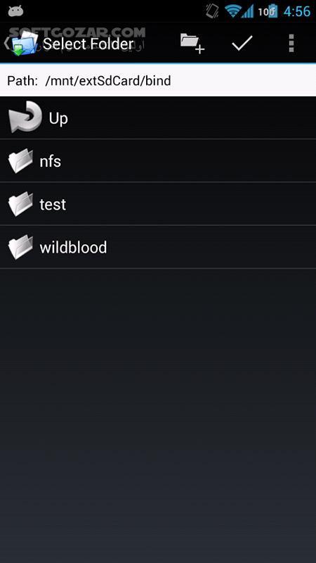 FolderMount Premium 2 9 13 for Android 2 3 تصاویر نرم افزار  - سافت گذر